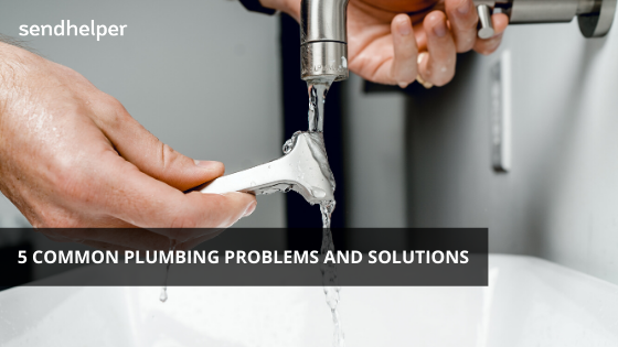 Common household plumbing problems and solutions.