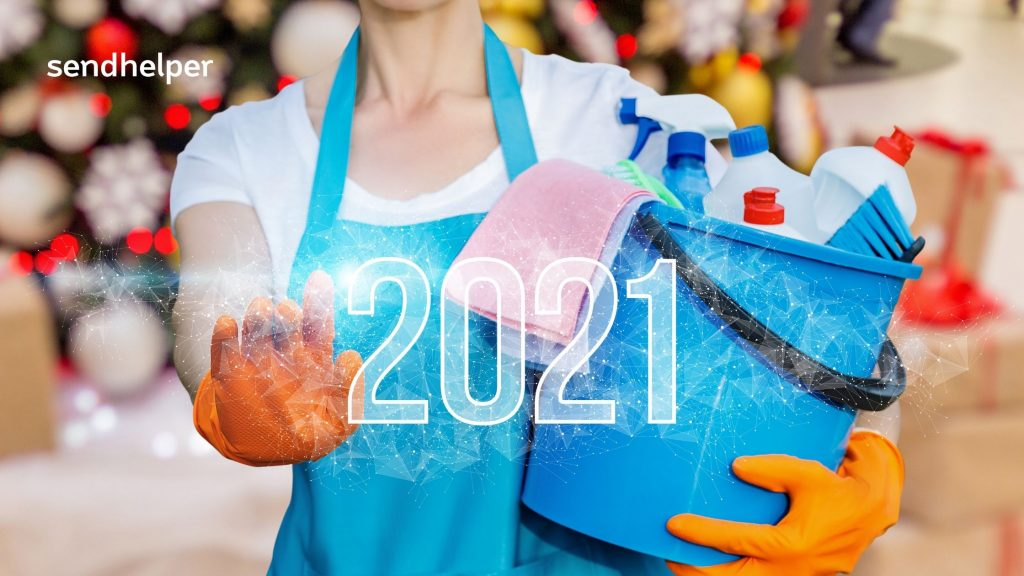 New Year's House Cleaning Resolutions