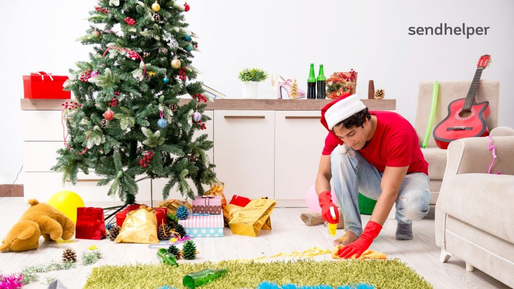 Things to clean for Christmas during Covid-19