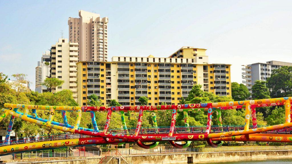 Alkaff Bridge of Singapore