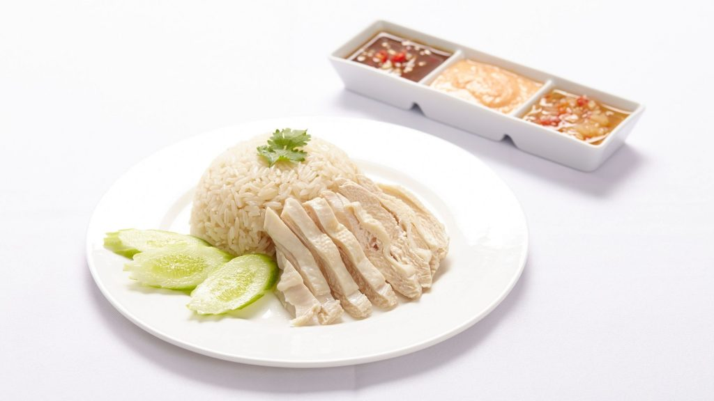 Singapore Food: Chicken Rice