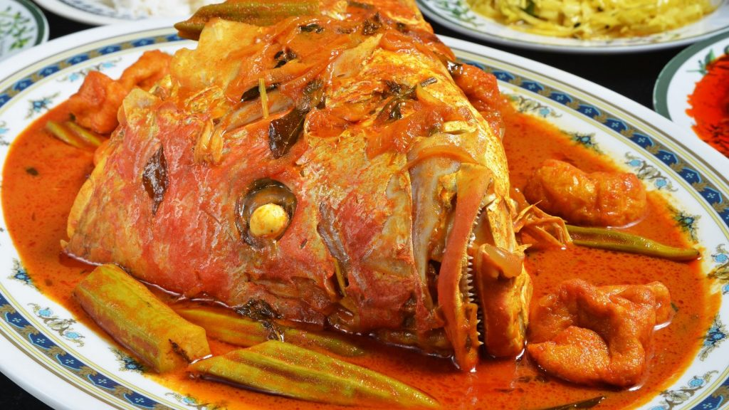 Singapore Food: Fish Head Curry