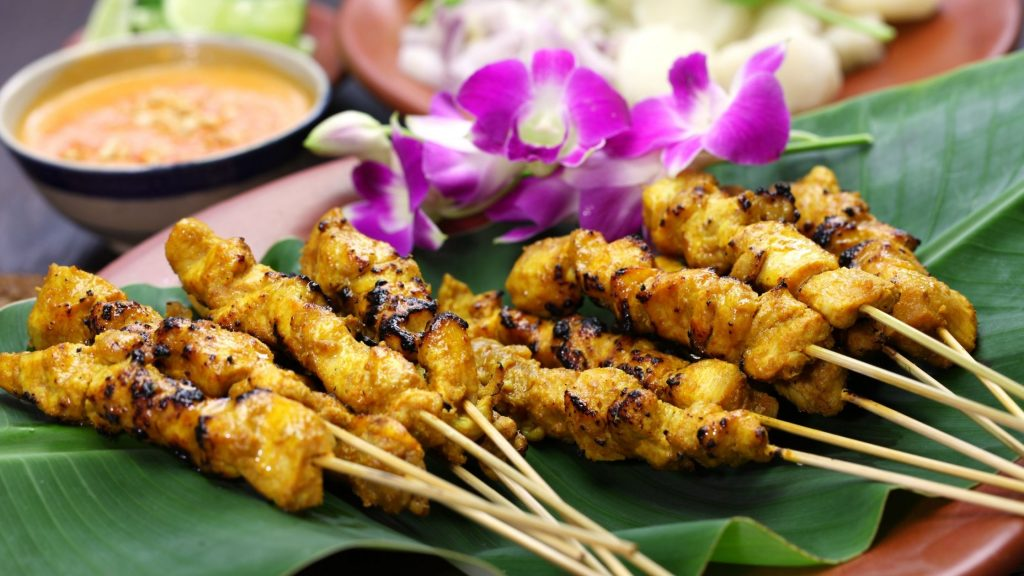 Singapore Food: Satay