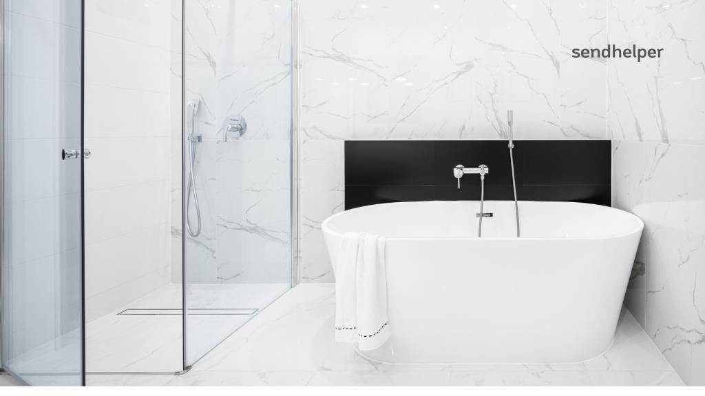 How to Clean Marble Floors in Bathrooms