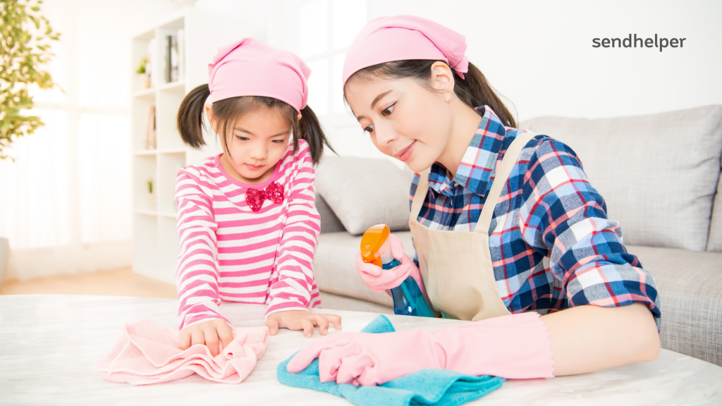 Cleaning Skills for Kids